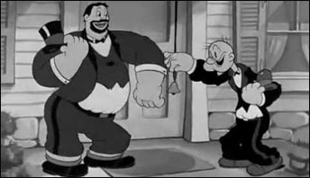 "Popeye in ""It's The Natual Thing To Do"" (1939)"