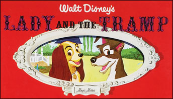 "Disneyland's ""Lady and the Tramp"" Storyteller Records"