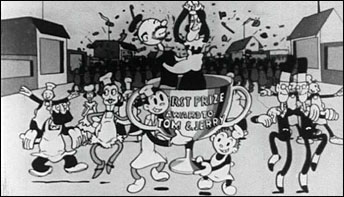 "A Little Late for 'Fat Tuesday':  Tom & Jerry in ""Doughnuts"" (1933)"