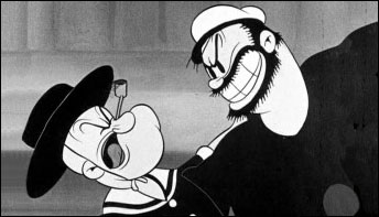 "Popeye Dances Again in ""Morning Noon and Night Club"" (1937)"