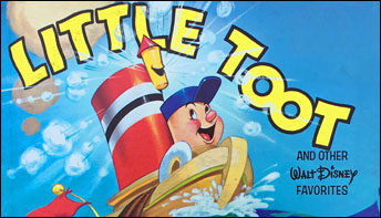 "Disney's ""Little Toot"" on Records"