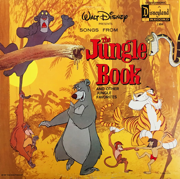 The Grooviest Jungle Book On Records
