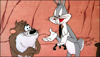 "Bugs Bunny in ""Devil May Hare"" (1954)"
