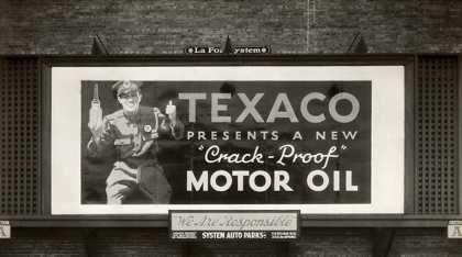 Texaco billboard