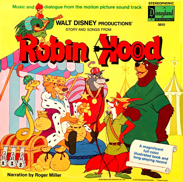 Disneys Robin Hood On Records