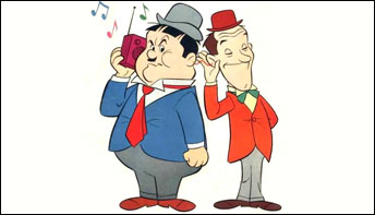 Laurel and Hardy Cartoons on Records