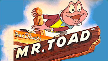 "Walt Disney's ""Mr. Toad"" on Records"