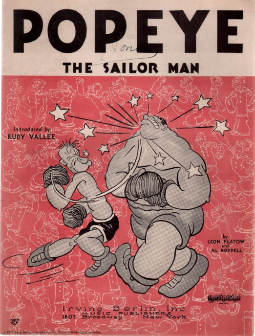 Sing Me A Cartoon 15 Sailor Man Rhythm