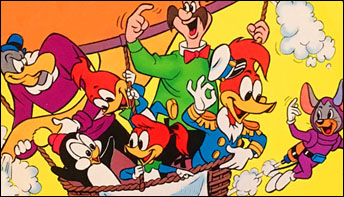 """Woody Woodpecker"" Cartoon Soundtracks on Records"