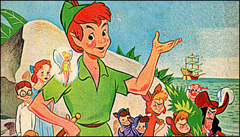 Peter Pan's LA-to-London Flights – on Records