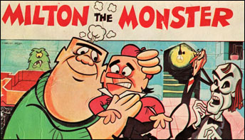 """Milton the Monster"" Mixed Horror with Humor"