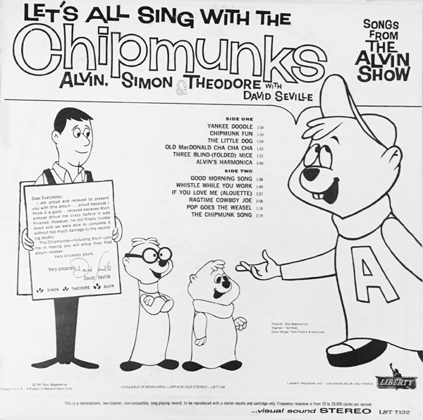 The Very First Album by Alvin and the Chipmunks |