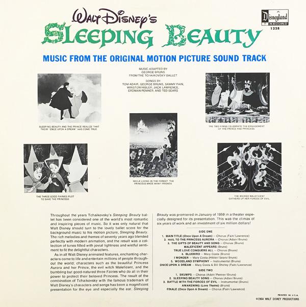 "Walt Disney's ""Sleeping Beauty"" Sound Track on Records |"