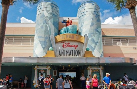 """The official description from 1989 of The Magic of Animation pavilion at  Disney MGM Studios was """"The new Animation Building at the Disney-MGM  Studios is a ... 979c1485cef5"""