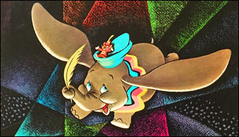 "Walt Disney's ""Dumbo"" Soundtrack on Records"