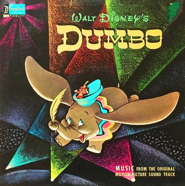 """Walt Disney's """"Dumbo"""" Soundtrack on Records"""
