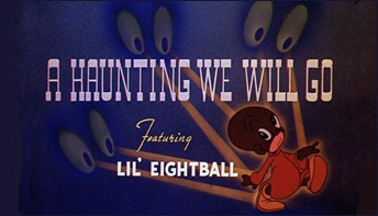 "L'il Eightball in ""A Haunting We Will Go"" (1939)"