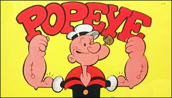 Popeye Goes to the Movies – on Records