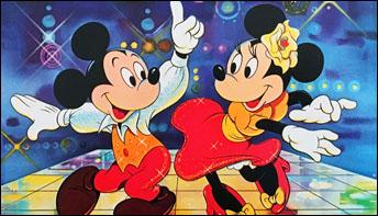 When Bugs, Popeye, Batman, Mickey & Friends Went Disco