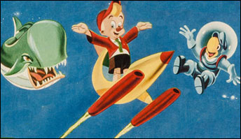"""""""Pinocchio in Outer Space"""" (1965) Just for the Record"""