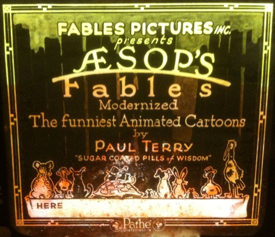 Talkin Aesop: Four Expanded Fables