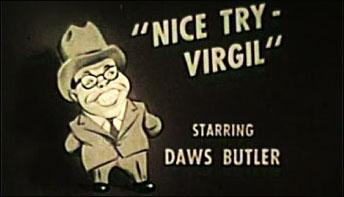 Daws Butler on Camera