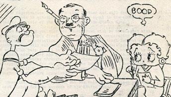Fleischer's Animated News #1