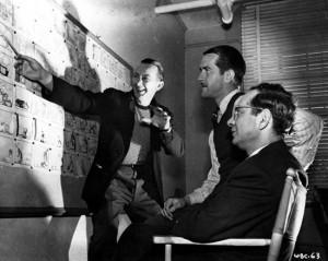 Warren Foster, Bob McKimson and Eddie Selzer