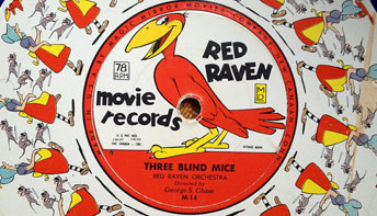 "Red Raven Records and Creepy ""Teddy Bear"" Themes"
