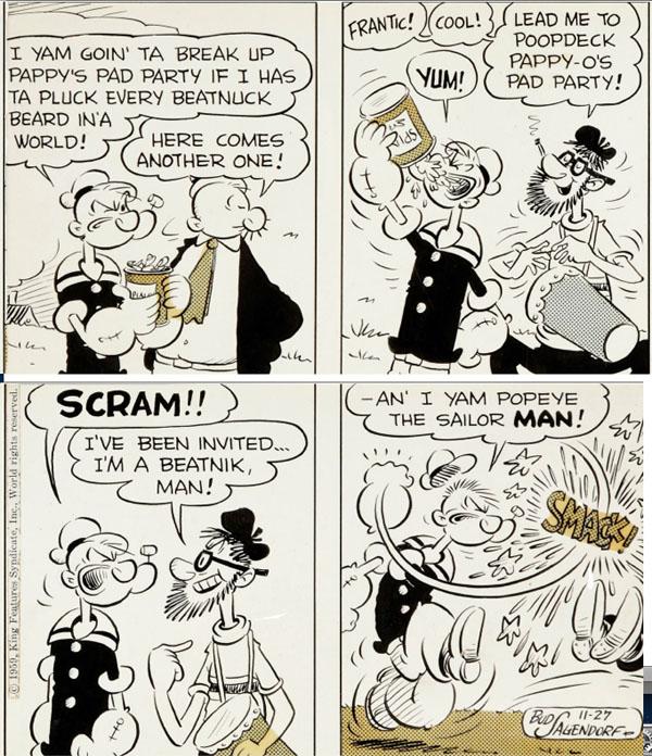 Popeye-beatnik