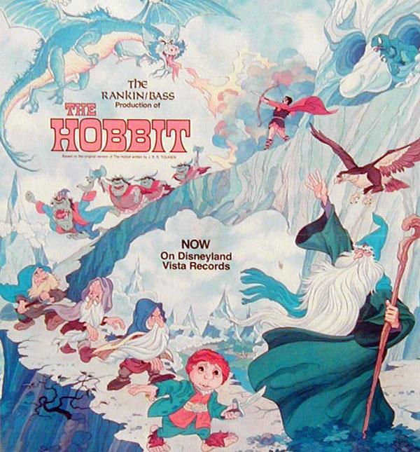 The Hobbit On Disneyland Records