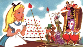 "Walt Disney's ""Alice In Wonderland"""
