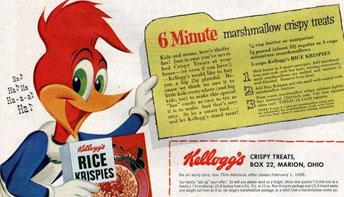 Snap, Crackle, and Peck: Woody Woodpecker for Kellogg's