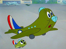 "Tex Avery's ""Little Johnny Jet (1953)"
