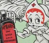 """Fleischer Promo Art #6: """"Betty Boop Knows the Trick!"""""""
