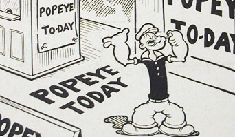 "Fleischer Promo Art #9: ""Popeye Today!"""