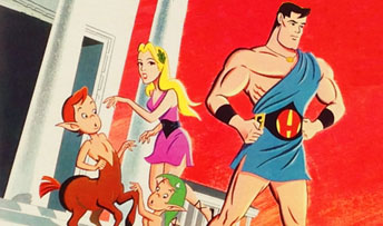 Hercules and Thor: Super Heroes on Not-Exactly-Super Records