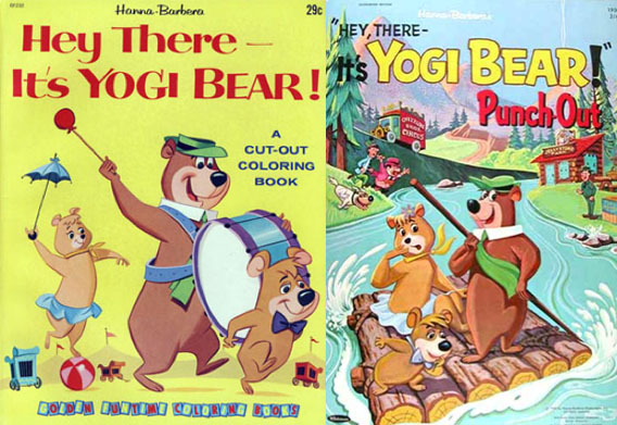 Two of Western Publishing's children's book tie-ins.