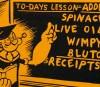 """Fleischer Promo Art #13: """"Popeye Adds Up The Profits"""""""