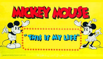 """Mickey Mouse: """"This is My Life"""" (1971)"""