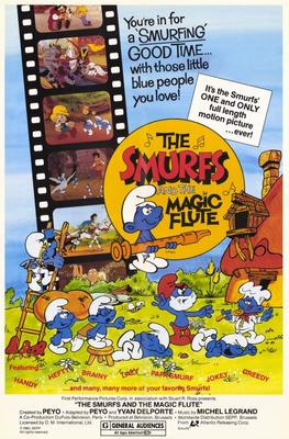 SmurfsMagicFlute_Poster