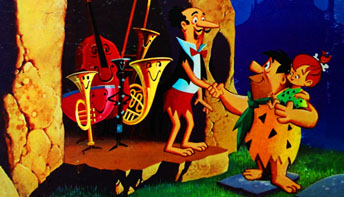 """""""The Flintstones' Meet The Orchestra Family"""" (1968)"""