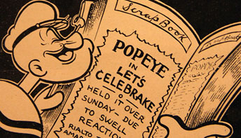 Popeye and Betty Boop Only: Max Fleischer Promo Art #24