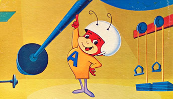 "Hanna-Barbera's ""Atom Ant"" Records"