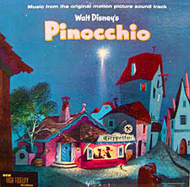 Pinocchio LP (1956)