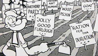 Paramount Sales News #47: Popeye's Victory Garden
