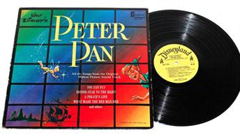 "Disney's First ""Peter Pan"" Soundtrack Album"