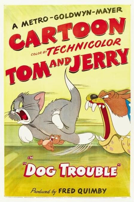 Poster for the cartoon's reissue on  June 21, 1952.