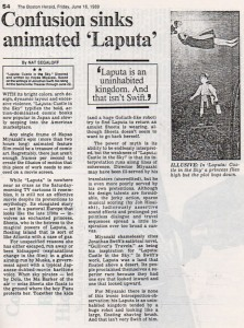 A review from The Boston Herald, June 16th 1989 (click to enlarge)