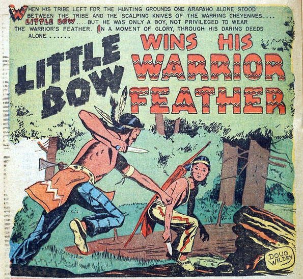 "From ""Indian Fighter"" #4 (1950)"